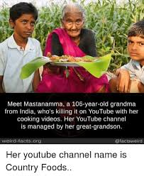 Image result for The last few videos on Country Foods are of Mastanamma funeral