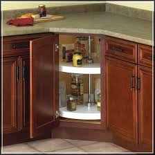lazy susan cabinet effectively completing the storage