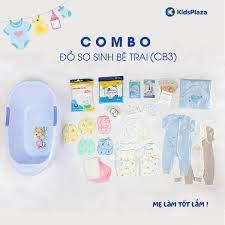 Combo đồ sơ sinh bé trai đầy đủ CB03 - Kids Plaza