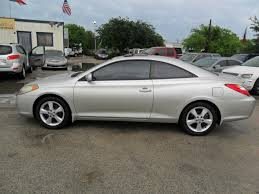 2004 Toyota Camry Solara SE Sport V6 2dr Coupe In Houston TX ...