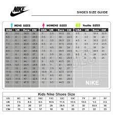 Nike Sandal Size Chart