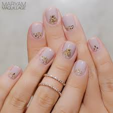 Maryam Maquillage: Cool Nudes: Nail Art & Makeup