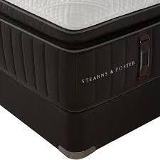 stearns u0026 foster reserve no 2 plush pillowtop mattress warehouse stearns and foster v75 foster