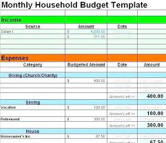 monthly household expenses sheet budget worksheet household expense template family expenses budget