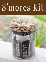 hostess gift smores kit crafts unleashed