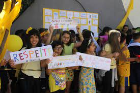 Ação do Maio Amarelo reúne alunos da educação infantil e ensino fundamental  em Campo Grande – Detran MS