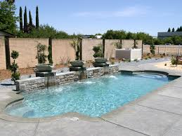 Fiberglass Swimming Pool Designs Awesome Decoration