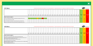 Music Spreadsheet Ks1 And Ks2 Music Curriculum Assessment Spreadsheet