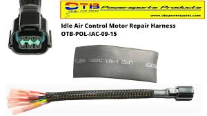 product category wiring harnesses otb powersports products idle air control motor wiring repair harness