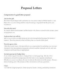 Cover Letter For A Proposal Technical Proposal Cover Letter Sample
