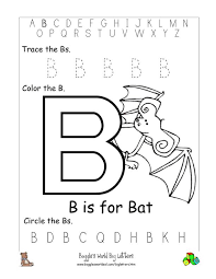 It's helpful for teaching letter b. Letter B Alphabet Worksheets