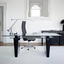 glass top home office desk. HD Modern Home Office Desk Glass Top Image