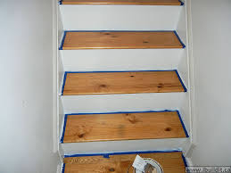 painted basement stairs. Painting The Risers And Stringers Painted Basement Stairs .