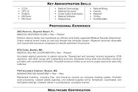 Billing Coordinator Job Description Medical Billing Sample Resume