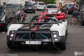 Pagani Zonda Cinque Roadster - 23 July 2016 - Autogespot