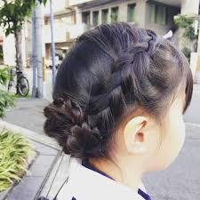 病みあがり 子供の髪型 ヘアアレンジ キッズヘア子供の髪型 子供