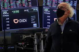 Didi worth $68 billion after U.S. debut ...