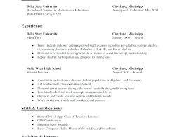 Math Tutor Resume Magnificent Sample Tutor Resume Math Tutor Resume Samples Sample English Teacher