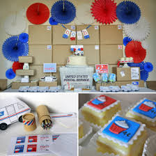 office party decorations. A First-Class Post Office Party! Party Decorations
