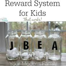 Reward System For Kids Easy Effective Your Modern Family