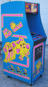 Ms Pacman Cabinet Ms Pac Man 3 Piece Decal Set Left Right And Front Phoenix