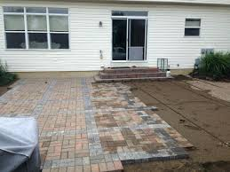 how to build paver patio how to install patio outdoor goods build paver patio steps