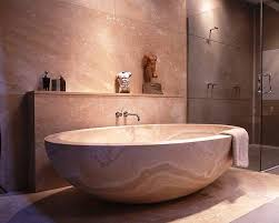 12 photos gallery of the great elegance of stone bath tubs