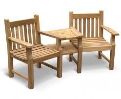 taverners garden teak companion seat
