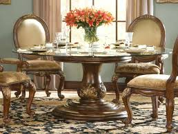 large round glass top dining table luxury dining room tables extra large glass top dining table