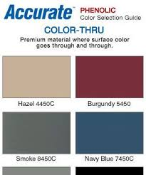 Bobrick Phenolic Color Chart Accurate Phenolic Restroom Partition Colors