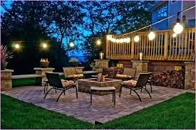 hanging outdoor string lights how to plan and hang patio outside wire