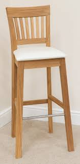 bar stool 183 solid oak beige fabric bar stools bar stool