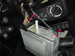 e36 radio replacement pelican parts technical bbs and also a small metal plug located approx here b