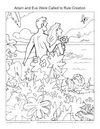 Creation Coloring Pages For School Preschool Free Sunday Lessons