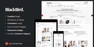 Business Website Templates Stunning BlackBird Responsive HTML48 Template By WebLionMedia ThemeForest