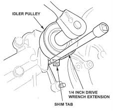 How do you change the timing belt on a 2004 Honda Odyssey besides Timing Belt tensioner together with Genuine Honda Acura Timing Belt Water Pump V6 Original Manufacture likewise 04   15 V6 Honda Acura Timing Belt Replace  Accord Ridgeline Pilot as well  additionally How do you change the timing belt on a 2004 Honda Odyssey likewise Amazon    TBK Timing Belt Kit Honda Pilot 2003 to 2004 3 5L besides Timing belt replacement Honda Odyssey 1998 2004 3 5L V6 water pump also 2006 Honda Odyssey EX L w Navigation  6900   Mr  AUTO in addition Honda J Series V6 Timing Belt Replacement PART 1   YouTube as well Honda Odyssey Timing Belt Coupon   30 000 belt tensioner. on timing belt repment honda odyssey 2006