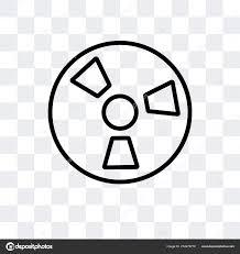 Radiation Logo Design Radiation Vector Icon Isolated On Transparent Background