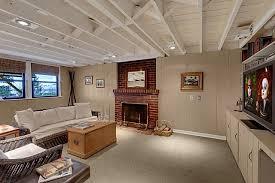 painting basement ceiling joists