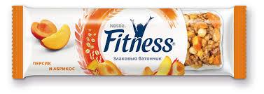 Купить <b>Батончик злаковый Fitness</b> персик и абрикос, 23 г с ...