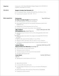 Profile Section Of Resume Examples Good Resume Format