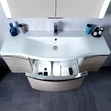curved vanity unit bathroom uk ideas