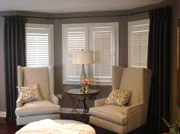 curtain rods for bay windows bedroom traditional with bay window bay window image by peltier designs