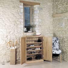 mobel oak large shoe storage buy online at wooden furniture store baumhaus mobel solid oak extra large shoe