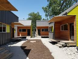 tiny house community for homeless. Contemporary Homeless The Cottages At Hickory Crossing Are Designed To House The 50 Homeless  People Deemed Costliest Dallas County And Tiny House Community For Homeless M