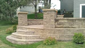 stamped concrete patio with stairs.  Patio Decorative Concrete Steps Intended Stamped Concrete Patio With Stairs O