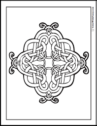 Celtic Cross Coloring Pages At Getdrawingscom Free For Personal