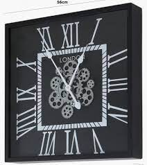 wall clock moving gears london