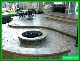 fire pit on concrete patio concrete patios with fire pits fire pit on concrete patio apartment
