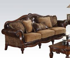 Tufted Living Room Set Dreena Living Room Paisley Chenille Tufted Bycast Sofa
