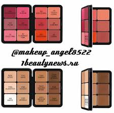 makeup forever hd foundation palette